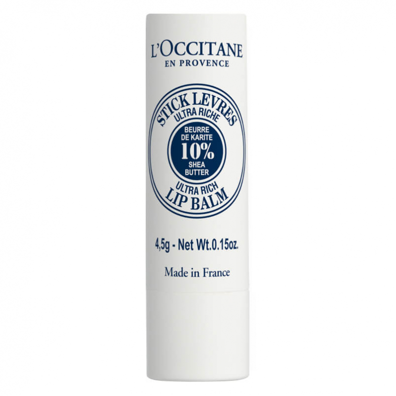L'Occitane Shea Ultra Rich Lip Balm (5ml) i gruppen Makeup / Lepper / Leppebalm hos Bangerhead.no (B002574)