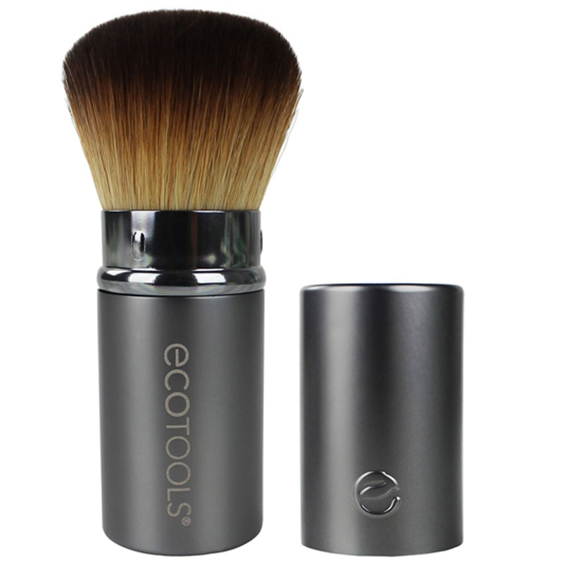 EcoTools Recycled Retractable Kabuki Brush i gruppen Makeup / B�rster & verkt�y / B�rster for ansiktsmakeup hos Bangerhead.no (B006267)