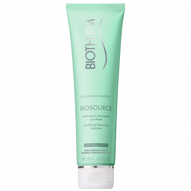 Biotherm Biosource Cleanser Toning Mousse Normal/Combination Skin (150ml) i gruppen Hudpleie / Ansiktsrens / Rengj�ringsskum hos Bangerhead.no (B009756)