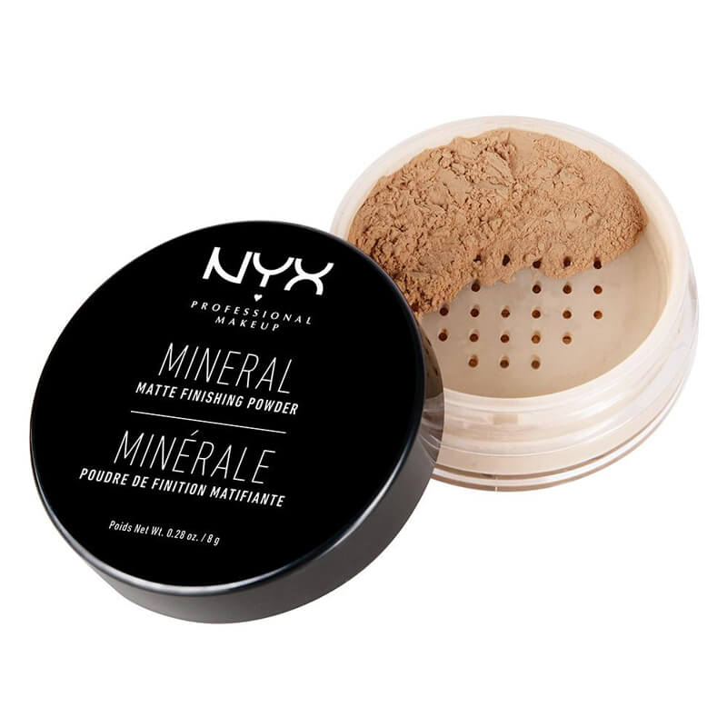 NYX Mineral Finishing Powder i gruppen Makeup / Base / Pudder hos Bangerhead.no (B014351r)