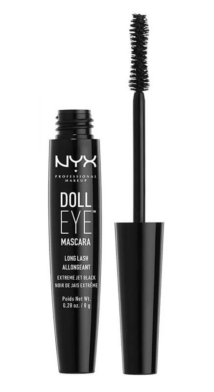 NYX Doll Long Lash Mascara Black  i gruppen Makeup / �yne / Mascara hos Bangerhead.no (DE01)