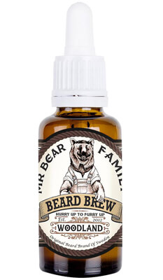 Mr Bear Family Beard Brew Woodland