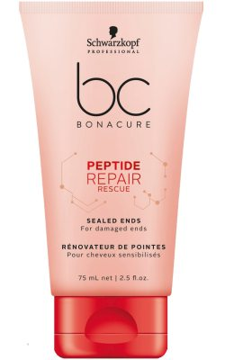 Schwarzkopf Professional BC Peptide Repair Rescue Sealed Ends (75ml)