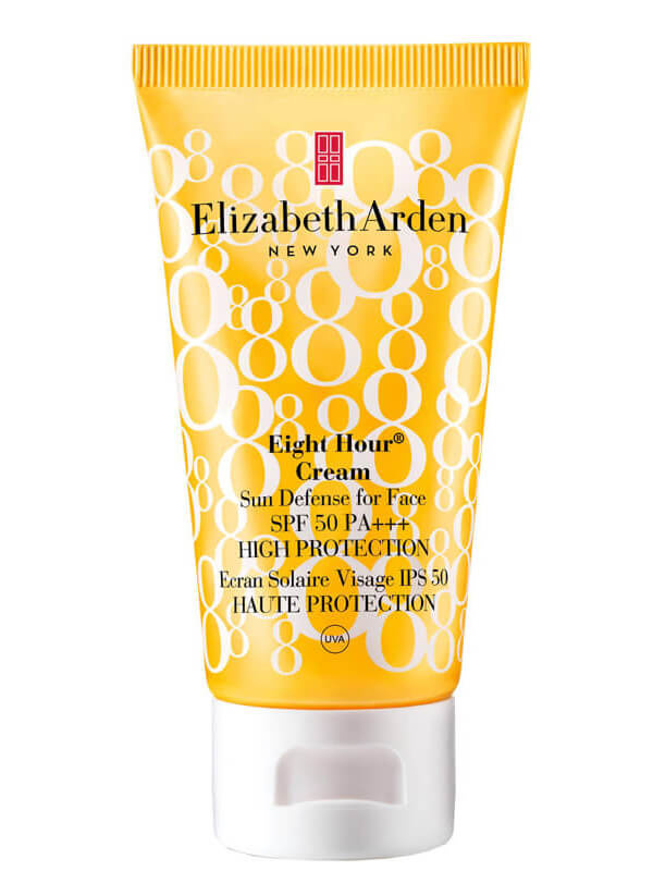 Elizabeth Arden Eight Hour Cream Sun Defense for Face SPF50 (50mI) i gruppen Hudpleie / Sol og tan for ansikt / Solbeskyttelse for ansikt hos Bangerhead.no (B010250)